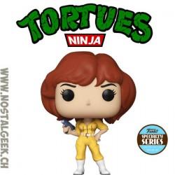 Funko Pop Retro Toys Les Tortues Ninja April O'neil Edition Limitée