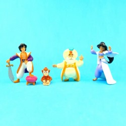 Aladdin Set of 4 second hand Figures (Loose)