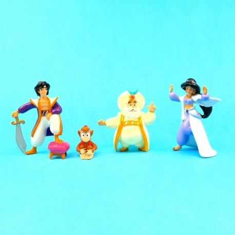Aladdin Set of 4 second hand Figures (Loose)
