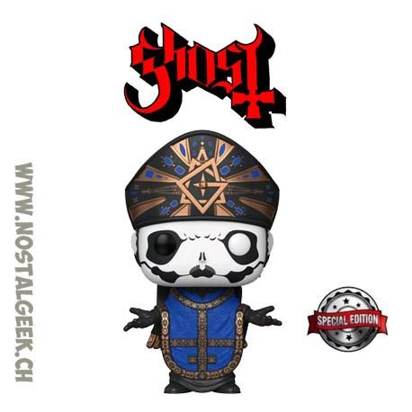 Funko Pop Rocks Ghost Papa Emeritus IV Exclusive Vinyl Figure