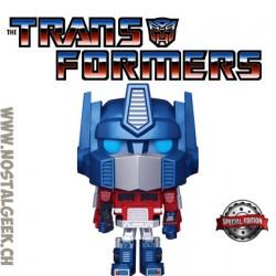 Funko Pop Retro Toys Transformers Optimus Prime (Metallic) Edition Limitée