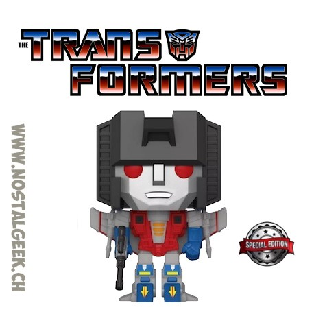 Funko Pop Retro Toys Transformers Starscream Exclusive Vinyl Figure
