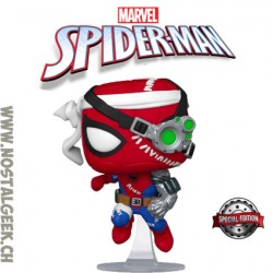 Funko Pop Marvel Cyborg Spider-Man Exclusive Vinyl Figure