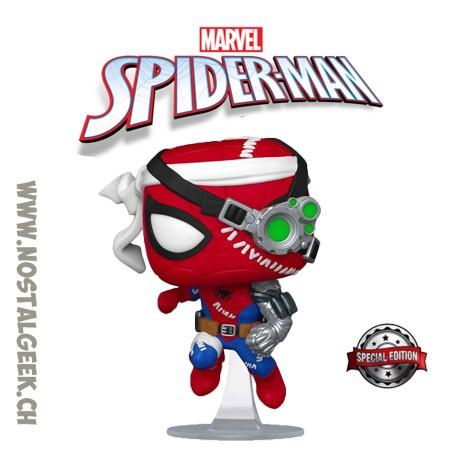 Funko Pop Marvel Cyborg Spider-Man Exclusive Vinyl Figure