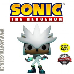 Funko Pop Games Sonic Silver Phosphorescent Edition Limitée