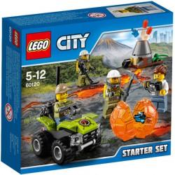Lego City 60120 Ensemble de démarrage du Volcan