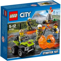 Lego City 60120 Volcano Starter Pack