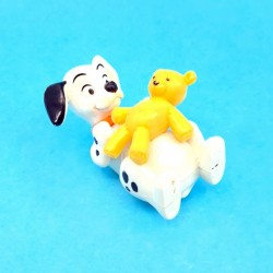 Disney 101 Dalmatians puppy with teddy bear second hand figure (Loose)