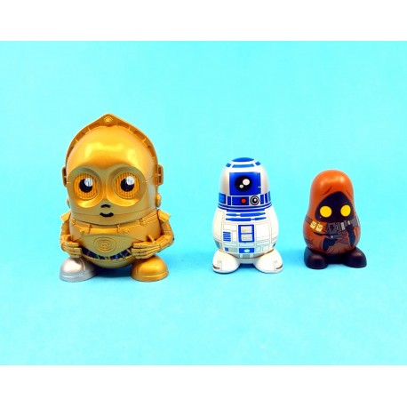 Star Wars Chubby Series one C3PO - R2D2- Jawa second hand figures (Loose)