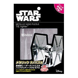 Star Wars Tenyo Metallic 3d Puzzle Tie Fighter