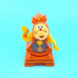 Disney Beauty and the Beast Cogsworth second hand Figure (Loose)