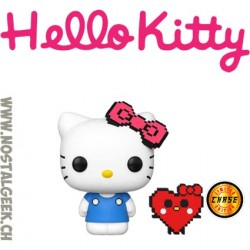 Funko Pop Sanrio Hello Kitty (8-Bit) (Heart) Edition Limitée Chase
