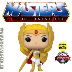 Funko Pop Masters of the Universe She-Ra GITD Exclusive Vinyl Figure