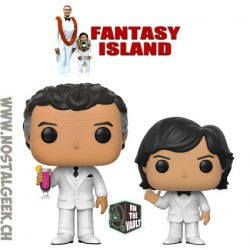 Funko Pop Fantasy Island Bundle Mr. Roarke + Tattoo Vaulted