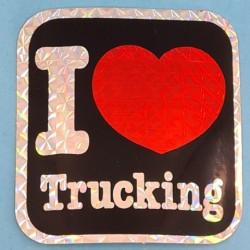 """Sticker vintage """"I Love Children"""" Second hand"""