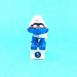 The Smurfs swimmer Smurf second hand Figure (Loose)