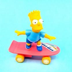 The Simpsons Bart Simpson skateboard second hand figure (Loose)