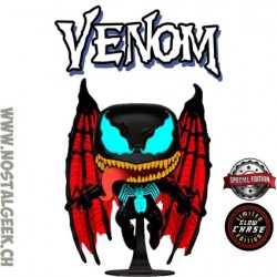 Funko Pop! Marvel Venom (Winged) Chase GITD Exclusive Vinyl Figure