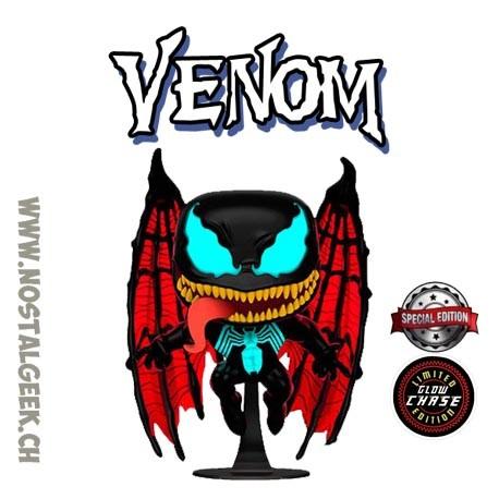 Funko Pop! Marvel Venom (Winged) Chase GITD Exclusive Vinyl Figure