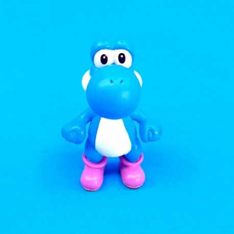 Nintendo Super Mario Bros. Blue Yoshi second hand figure (Loose)