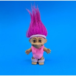 Troll 18 cm Pink hair aerobic second hand figure (Loose)