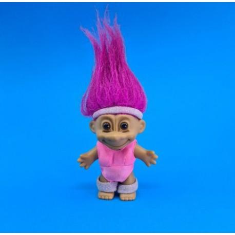 Troll 18 cm Pink hair aerobic second hand figure (Loose)