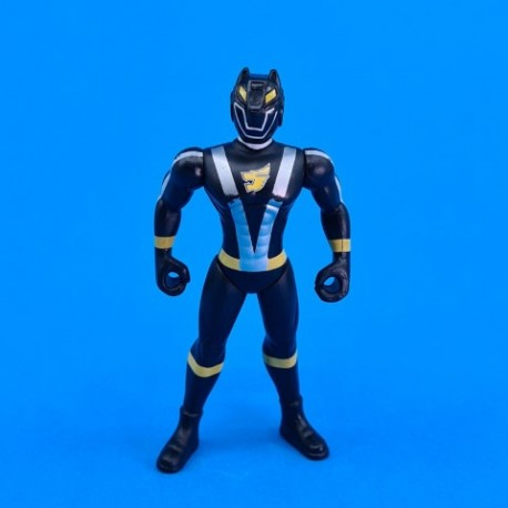 Power Rangers RPM Black Wolf second hand action figure (Loose)