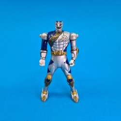 Power Rangers Wild Force Lunar Wolf Ranger Flip Head second hand action figure (Loose)
