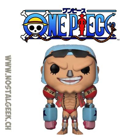 Funko Pop Anime One Piece Franky Vinyl Figure