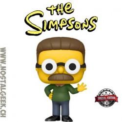 Funko Pop Cartoons The Simpsons Ned Flanders Exclusive Vinyl Figure