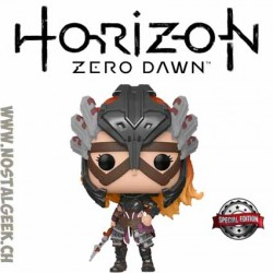 Funko Pop Horizon Zero Dawn Aloy Shadow Stalwart Armor Exclusive Vinyl Figure