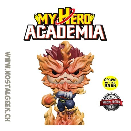 Funko Pop! Anime My Hero Academia Endeavor (Jet Burn) Exclusive GITD Vinyl Figure