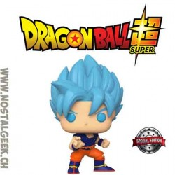 Funko Pop Dragon Ball Super SSGSS Goku Exclusive Vinyl Figure