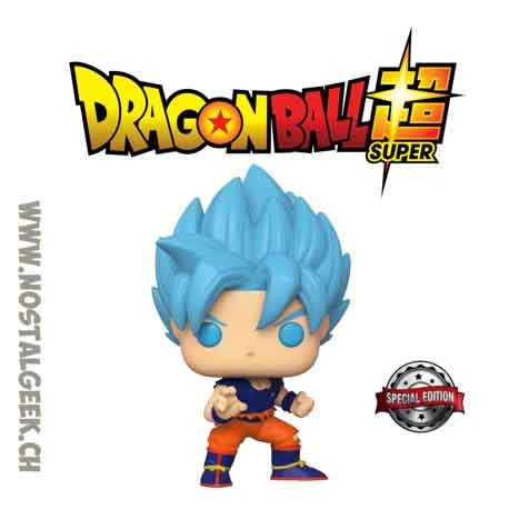 Funko Pop Dragon Ball Super SSGSS Goku Exclusive Vinyl Figure