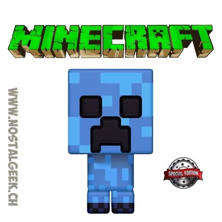 Funko Pop Games Minecraft Charged Creeper Exclusive Vinyl Figure