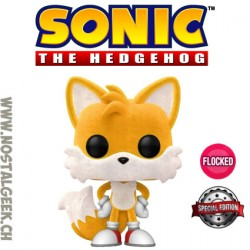 Funko Pop Games Sonic Tails Flocked Exclusive Vinyl Figure