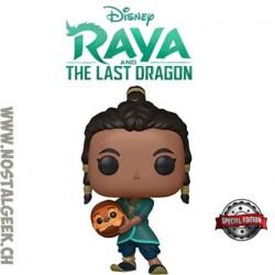 Funko Pop Disney Raya The Last Dragon Raya and Baby Tuk Tuk Exclusive Vinyl Figure