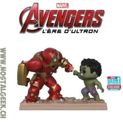 Funko Pop NYCC 2018 Movie Moments Avengers Hulkbuster Vs. Hulk Exclusive Vinyl Figure