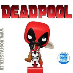 Funko Pop Rides Marvel Sheriff Deadpool Riding Horsey Exclusive Vinyl Figure