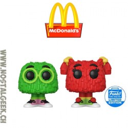 Funko Pop Ad Icons McDonald's Fry Guys (Green & Red) (2-Pack) Exclusive Vinyl Figures