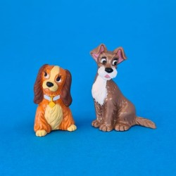 Disney Lady and the Tramp set of 2 second hand figure (Loose)