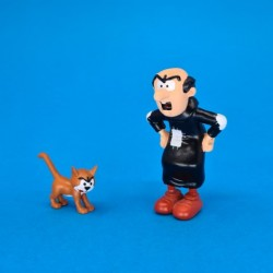 The Smurfs Gargamel and Azrael second hand Figure (Loose)