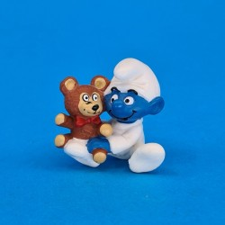The Smurfs Baby Smurf teddy bear second hand Figure (Loose)