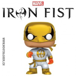 Funko Pop! Marvel Iron Fist Costume Blanc Edition Limitée