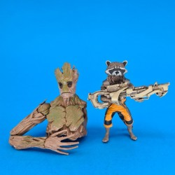 Marvel Rocket Raccoon and Grootsecond hand figure (Loose)