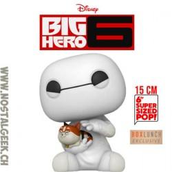 Funko Pop 15 cm Big Hero 6 Baymax with Mochi Exclusive Vinyl Figure