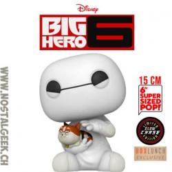 Funko Pop 15 cm Big Hero 6 Baymax with Mochi Chase GITD Exclusive Vinyl Figure