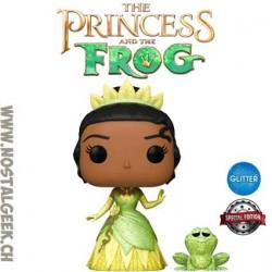 Funko Pop Disney La Princesse et la Grenouille Princess Tiana & Naveen Glitter Exclusive Vinyl Figure