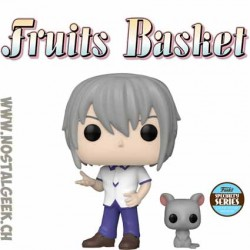Funko Pop Fruits Basket Yuki with rat Exclusive Vinyl Figure