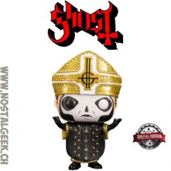 Funko Pop Rocks Ghost Papa Emeritus III Exclusive Vinyl Figure